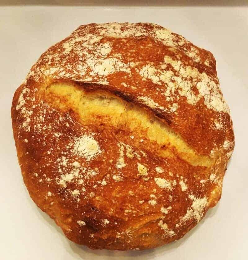 Easy No Knead Crusty Bread