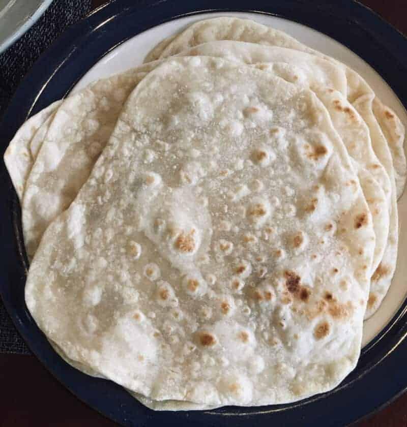 Easy soft flour torillas