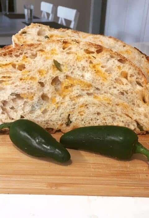 Jalapeno Cheddar Sourdough Bread Recipe