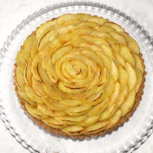 salted caramel and apple tart recipe