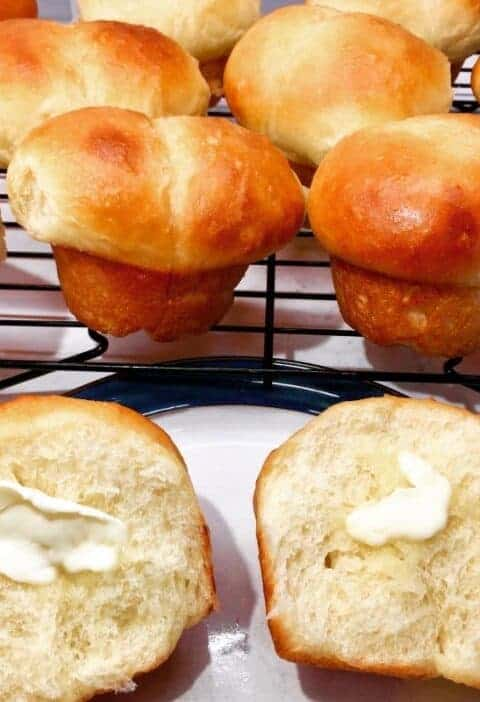 Soft Bread Roll Recipe