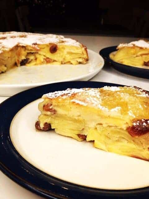 Apple Dutch Baby Cake