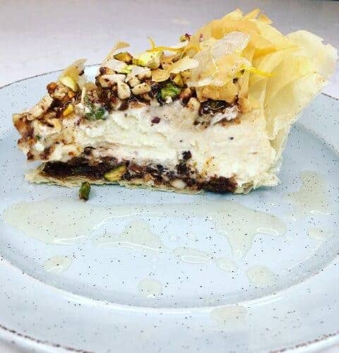 baklava cheesecake recipe