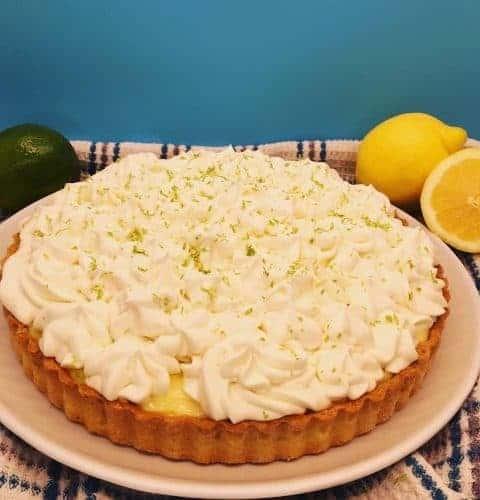 French Lemon Lime Tart